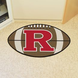 Rutgers University Ball Shaped Area rugs (Ball Shaped Area Rugs: Football)
