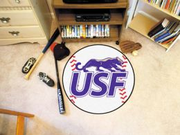 University of Sioux Falls Ball Shaped Area Rugs (Ball Shaped Area Rugs: Baseball)
