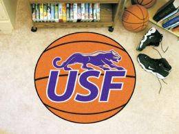 University of Sioux Falls Ball Shaped Area Rugs (Ball Shaped Area Rugs: Basketball)