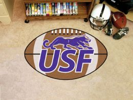 University of Sioux Falls Ball Shaped Area Rugs (Ball Shaped Area Rugs: Football)