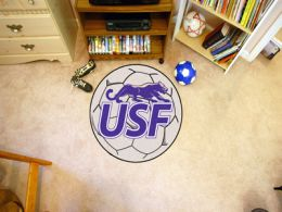 University of Sioux Falls Ball Shaped Area Rugs (Ball Shaped Area Rugs: Soccer Ball)