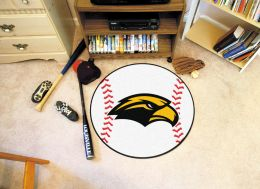 University of Southern Mississippi Ball Shaped Area Rugs (Ball Shaped Area Rugs: Baseball)