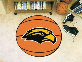 University of Southern Mississippi Ball Shaped Area Rugs (Ball Shaped Area Rugs: Basketball)