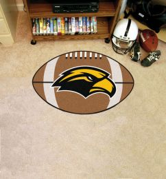 University of Southern Mississippi Ball Shaped Area Rugs (Ball Shaped Area Rugs: Football)