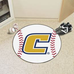 University of Tennessee at Chattanooga Ball Shaped Area rugs (Ball Shaped Area Rugs: Baseball)