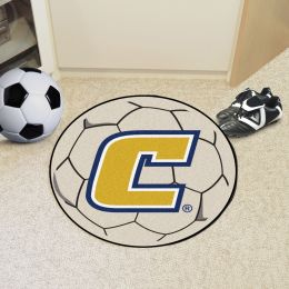 University of Tennessee at Chattanooga Ball Shaped Area rugs (Ball Shaped Area Rugs: Soccer Ball)