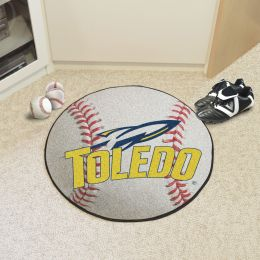 University of Toledo Ball Shaped Area Rugs (Ball Shaped Area Rugs: Baseball)