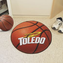 University of Toledo Ball Shaped Area Rugs (Ball Shaped Area Rugs: Basketball)