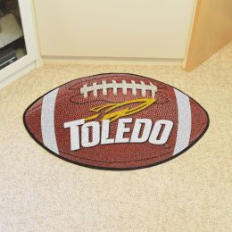 University of Toledo Ball Shaped Area Rugs (Ball Shaped Area Rugs: Football)