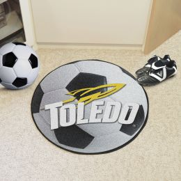 University of Toledo Ball Shaped Area Rugs (Ball Shaped Area Rugs: Soccer Ball)