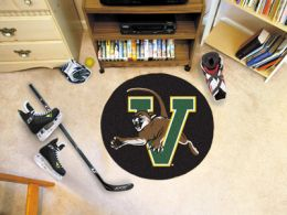 University of Vermont Ball Shaped Area Rugs (Ball Shaped Area Rugs: Hockey Puck)
