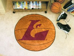 University of Wisconsin–La Crosse Ball Shaped Area Rugs (Ball Shaped Area Rugs: Basketball)