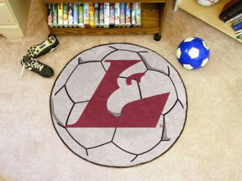 University of Wisconsin-La Crosse Ball Shaped Area Rugs (Ball Shaped Area Rugs: Soccer Ball)