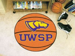 University of Wisconsin-Stevens Point Ball Shaped Area Rugs (Ball Shaped Area Rugs: Basketball)