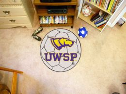 University of Wisconsin-Stevens Point Ball Shaped Area Rugs (Ball Shaped Area Rugs: Soccer Ball)