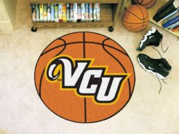 Virginia Commonwealth University Ball Shaped Area Rugs (Ball Shaped Area Rugs: Basketball)