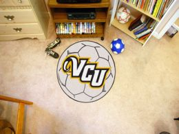 Virginia Commonwealth University Ball Shaped Area Rugs (Ball Shaped Area Rugs: Soccer Ball)