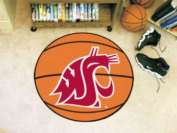 Washington State University Ball Shaped Area Rugs (Ball Shaped Area Rugs: Basketball)