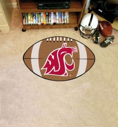 Washington State University Ball Shaped Area Rugs (Ball Shaped Area Rugs: Football)
