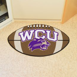 Western Carolina University Ball Shaped Area Rugs (Ball Shaped Area Rugs: Football)