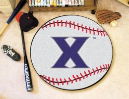 Xavier University Ball Shaped Area Rugs (Ball Shaped Area Rugs: Baseball)
