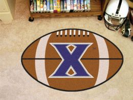 Xavier University Ball Shaped Area Rugs (Ball Shaped Area Rugs: Football)