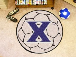 Xavier University Ball Shaped Area Rugs (Ball Shaped Area Rugs: Soccer Ball)